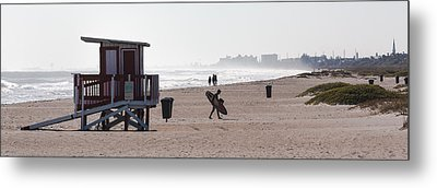 Done Surfing Metal Print by Ed Gleichman