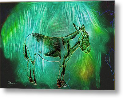 Donkey-featured In Nature Photography Group Metal Print by EricaMaxine  Price