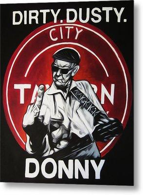 Donny Cash Metal Print by Steve Hunter