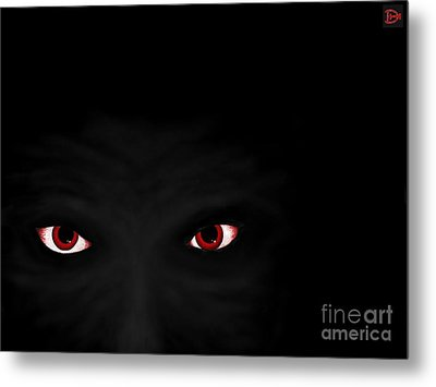 Don't Be Afraid Of The Dark Metal Print
