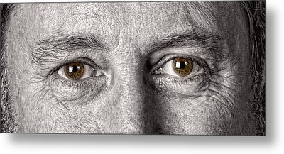 Dont Let The Stars Get In Your Hazel Eyes Metal Print by James BO  Insogna