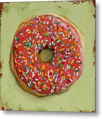 Donut #1 Metal Print by David Palmer