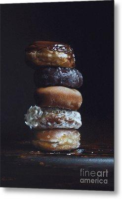 Donut Tower No.3 Metal Print by Larry Preston