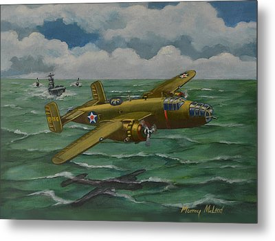 Metal Print featuring the painting Doolittle Raider 2 by Murray McLeod