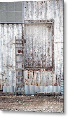 Metal Print featuring the photograph Door 1 by Minnie Lippiatt