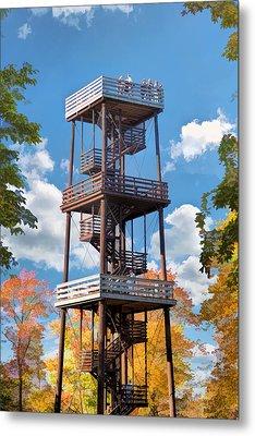 Door County Eagle Tower Peninsula State Park Metal Print