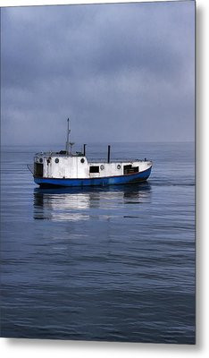 Door County Gills Rock Trawler Metal Print by Christopher Arndt