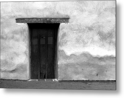 Door Metal Print by Joey  Maganini