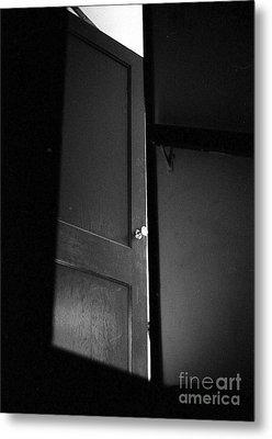 Door Metal Print by Steven Macanka