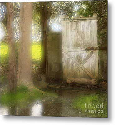 Door To Other Realms Metal Print by Inspired Nature Photography Fine Art Photography