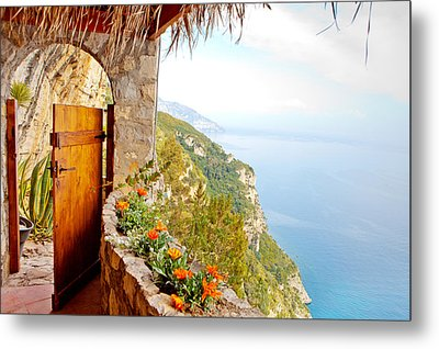 Door To Paradise Metal Print by Susan Schmitz