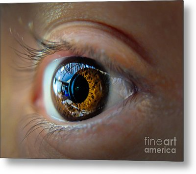 Door To The Soul Metal Print by Will Cardoso