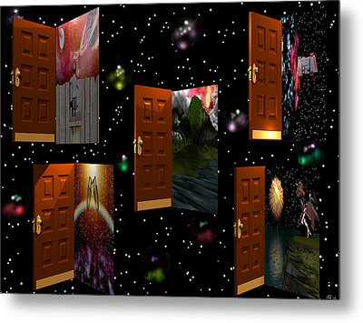 Door To Your Dreams Metal Print