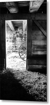 Doorway Through Time Metal Print