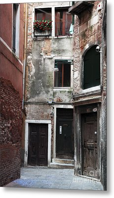Doors Of All Sizes Metal Print by John Rizzuto
