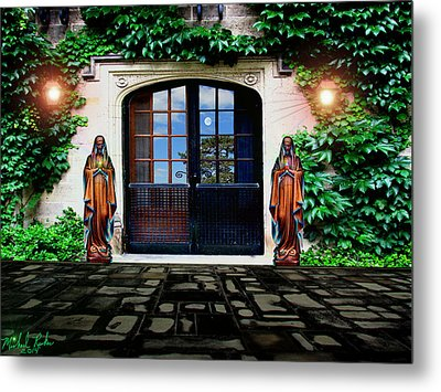 Doors Of Ivy Metal Print by Michael Rucker