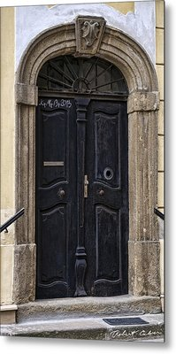Doors Of Kromeriz Metal Print