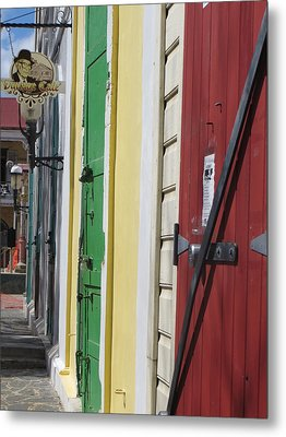 Metal Print featuring the photograph Doors Of St. Thomas Usvi  by Jean Marie Maggi