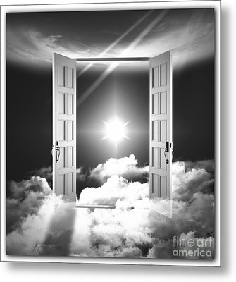 Doors To Paradise Metal Print by Stefano Senise