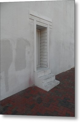 Doorway Aslant Metal Print