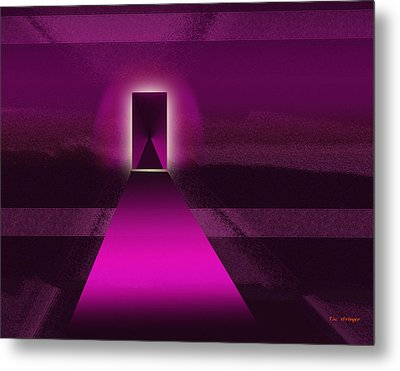 Doorway Metal Print by Tim Stringer