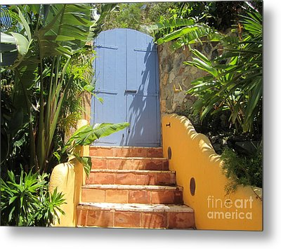 Metal Print featuring the photograph Doorway To Paradise by Fiona Kennard