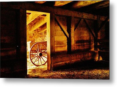 Doorway To The Past Metal Print