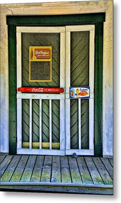 Doorway To The Past Metal Print by Kenny Francis