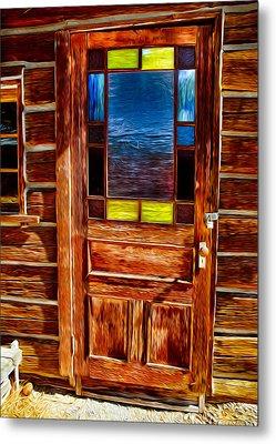 Doorway To The Past Metal Print by Omaste Witkowski