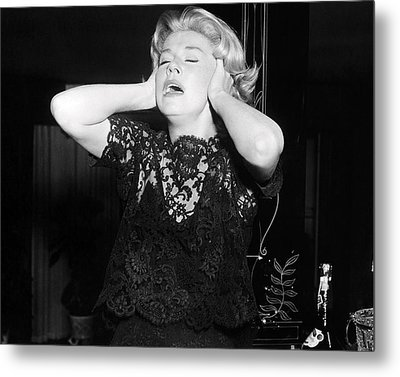 Doris Day In Midnight Lace  Metal Print by Silver Screen