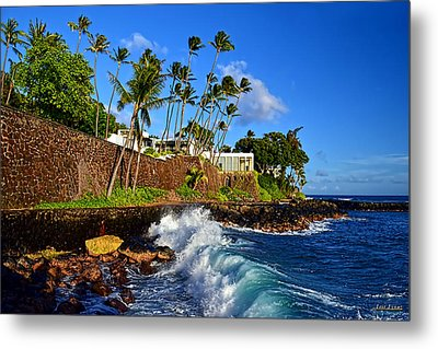 Metal Print featuring the photograph Doris Duke Shangri La Hawaii by Aloha Art