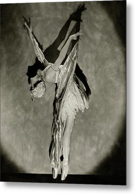 Dorothy Dilley In The Butterfly Dance Metal Print by Nickolas Muray