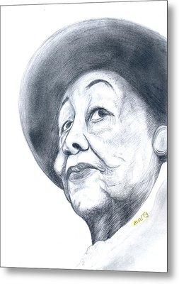 Dorothy Height Metal Print by Emmanuel Baliyanga
