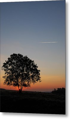 Metal Print featuring the photograph Dorset Dawn by Wendy Wilton