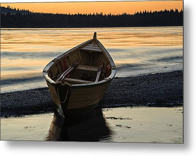 Dory At Dawn Metal Print by Marty Saccone