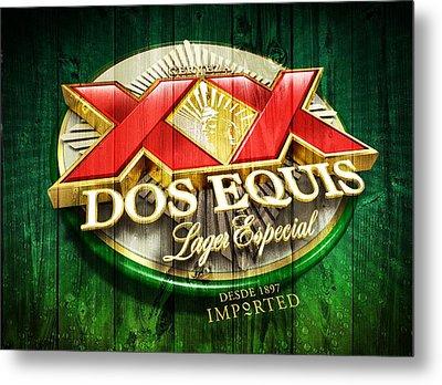 Dos Equis Barn Metal Print by Dan Sproul