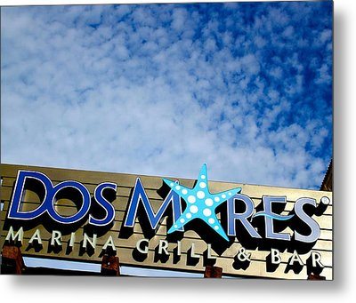 Dos Mares Metal Print by Kimberly Reeves