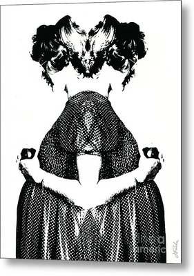 Double Entendre Metal Print by Jessie Parker