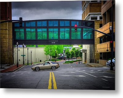 Metal Print featuring the photograph Double Line by Dennis Baswell