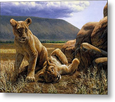 Double Trouble Metal Print by Crista Forest