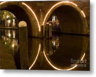 Metal Print featuring the photograph Double Tunnel by John Wadleigh