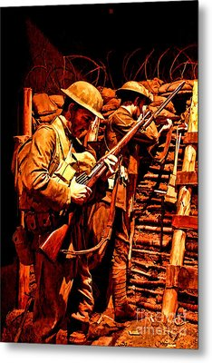 Doughboys  Metal Print by Tommy Anderson