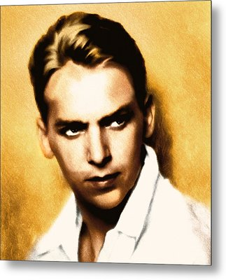 Douglas Fairbanks Jr Metal Print