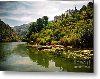 Douro Landscape I Metal Print