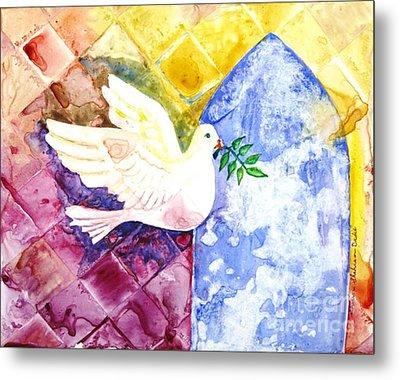 Dove Of Peace Metal Print by Shirin Shahram Badie
