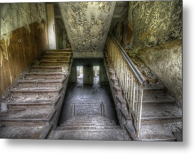 Down And Up Metal Print