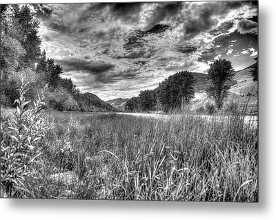 Metal Print featuring the photograph Down By The River  by Kevin Bone