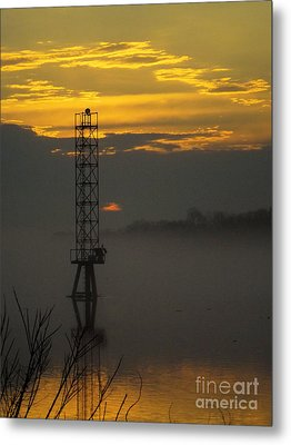 Metal Print featuring the photograph Down By The River by Robyn King