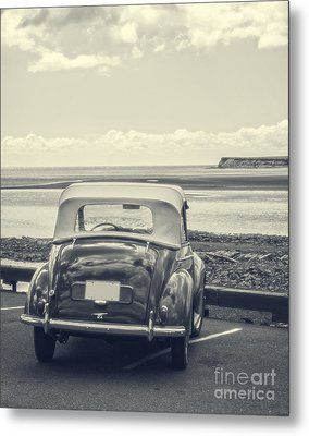 Down By The Shore Metal Print by Edward Fielding