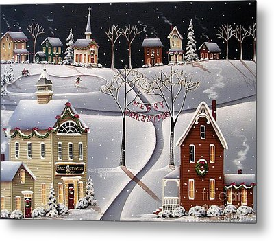 Down Home Christmas Metal Print by Catherine Holman
